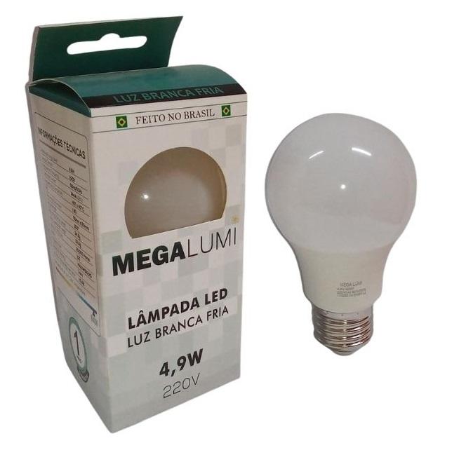 LAMPADA LED BULBO 4,9W MEGA LUMI