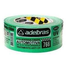 FITA CREPE 18X50 AUTOMOTIVA 766 VERDE ADELBRAS