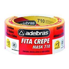 FITA CREPE 48X50 USO GERAL 710 ADELBRAS