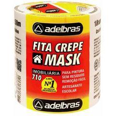 FITA CREPE 18X50 USO GERAL SLEEVE 710 ADELBRAS