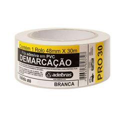 FITA DEMARCACAO AREA 48X30 BRANCA 910 ADELBRAS