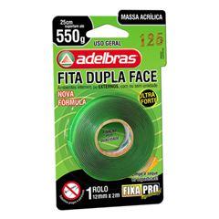 FITA DUPLA FACE 12X2 FIXA PRO 200 ADELBRAS