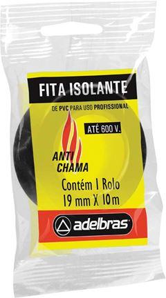 FITA ISOLANTE 19X10 FLOW-PACK 930 ADELBRAS